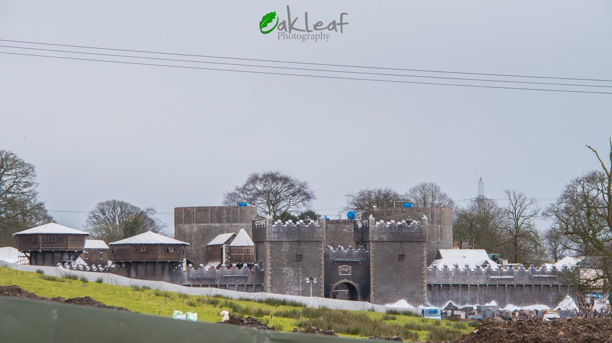 Winterfell in the aftermath of battle. Photo: Oakleaf Photography