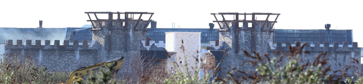 The walls of King's Landing at Titanic Studios. Photo: Colm O'Reilly / Sunday Life
