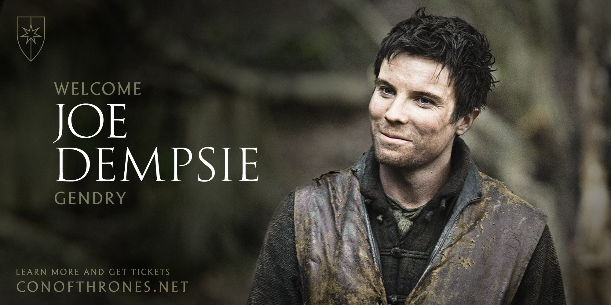 Joe Dempsie Con of Thrones Gendry