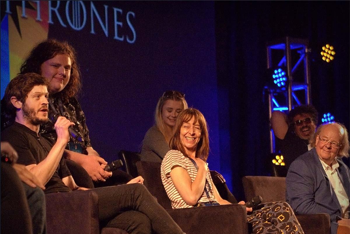 Cast at Con of Thrones