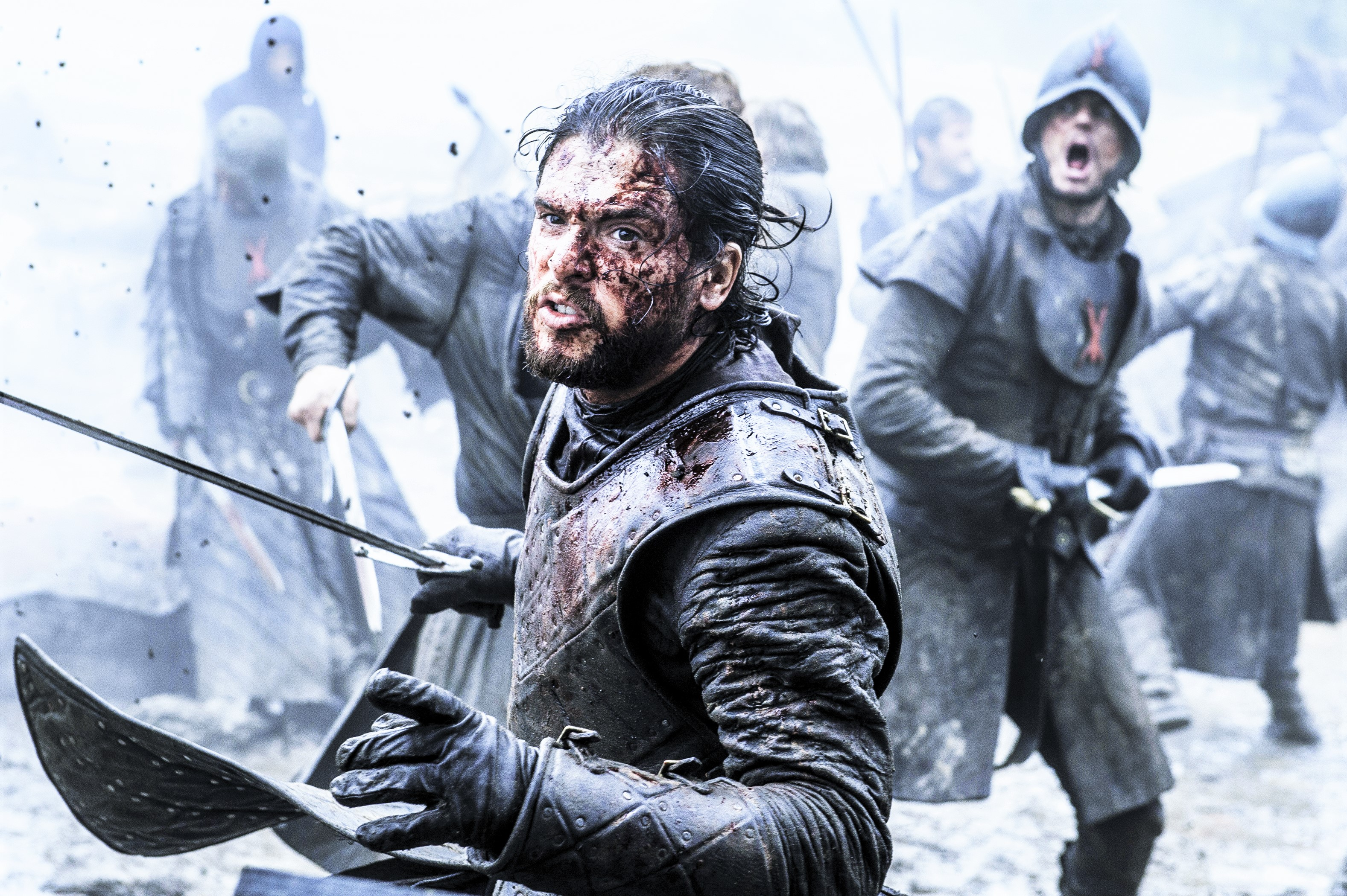 Jon Snow Battle of the Bastards 609 Winterfell