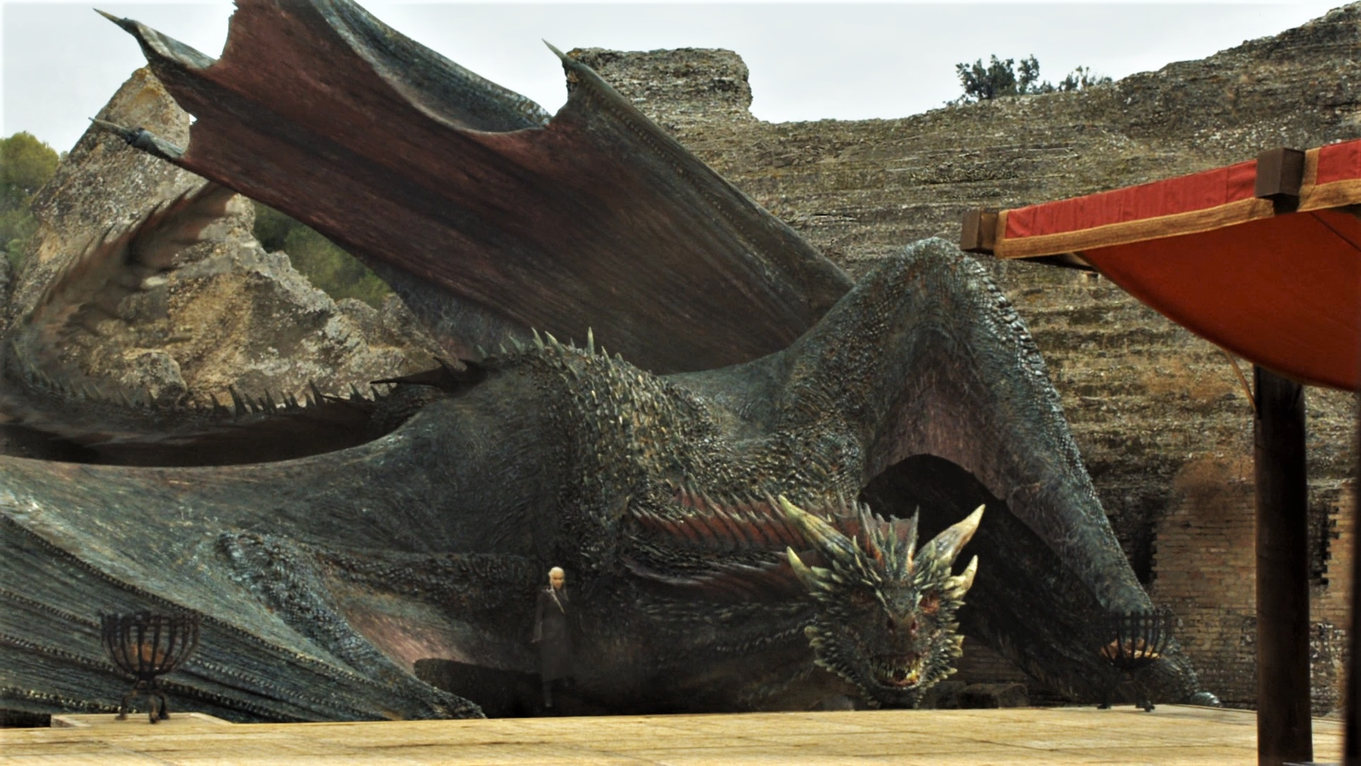Will one of the last dragons return to this Targaryen ruin in season eight?