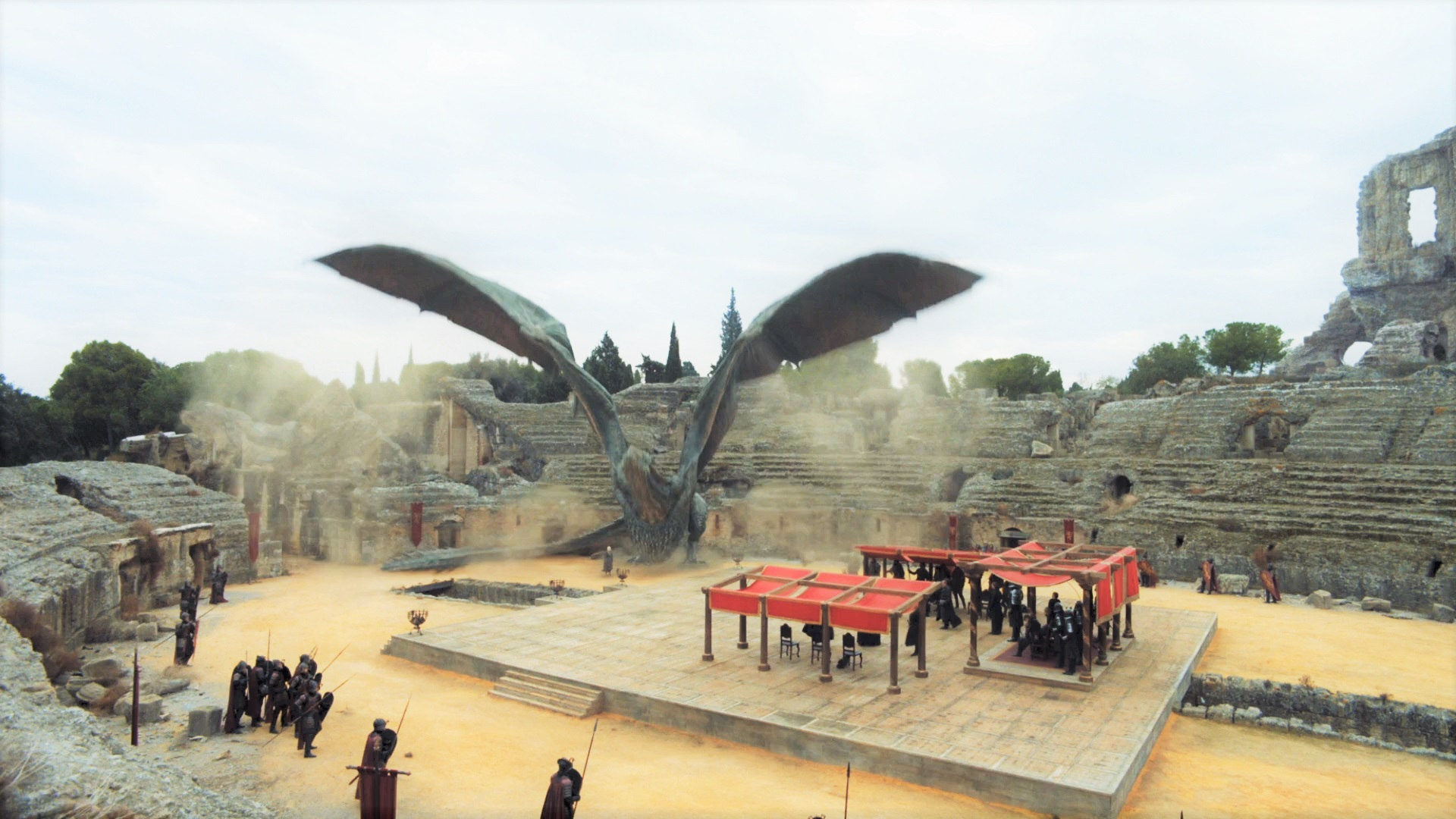 The Fall of Viserion | Watchers on the Wall | A Game of