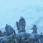 Wall - Beyond Frozen Lake 7x06 (13) Jon Beric Tormund Sandor White Walkers Wights