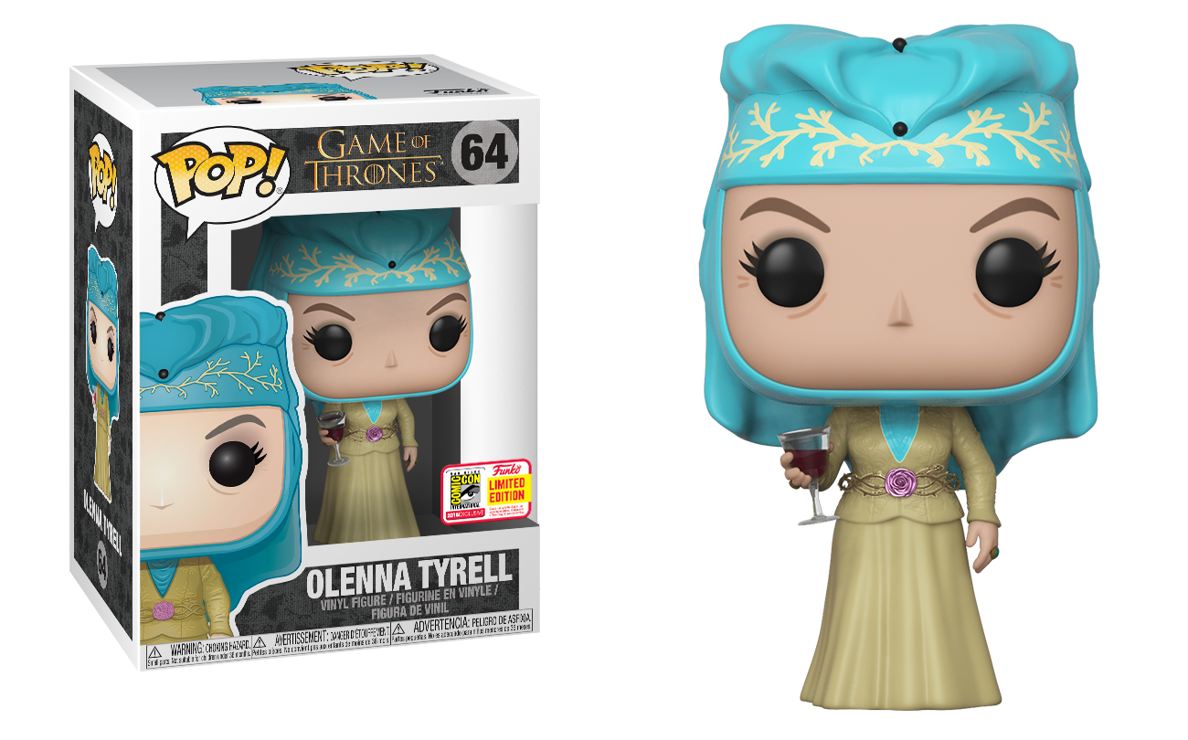 3b3a12e6e26 Funko Pop Dorbz Olenna Tyrell. The dragons will also be available as an  exclusive ...