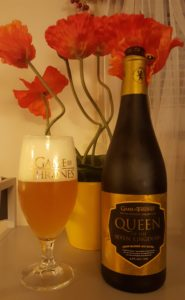 Poured in a Brewery Ommegang Game of Thrones glass (sold separately)