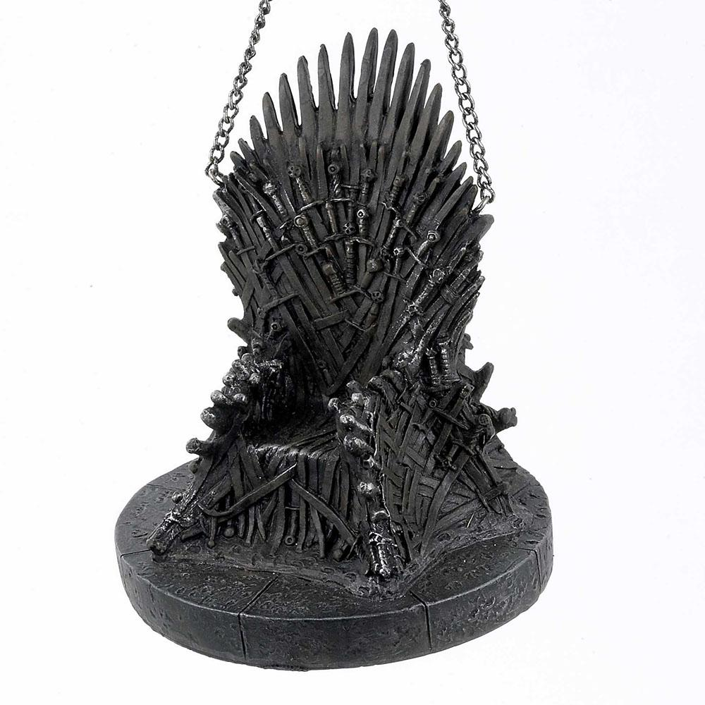 Iron Throne Resin Ornament
