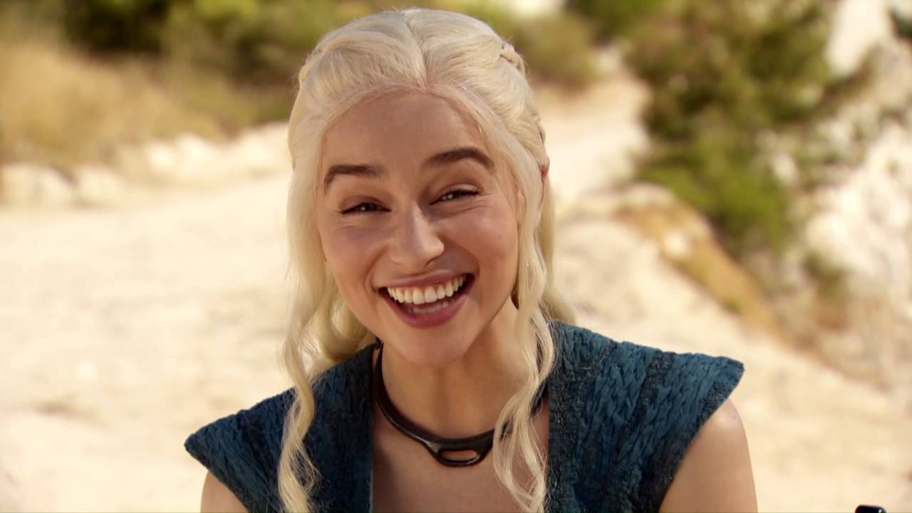 Dany is happy! We're all happy!