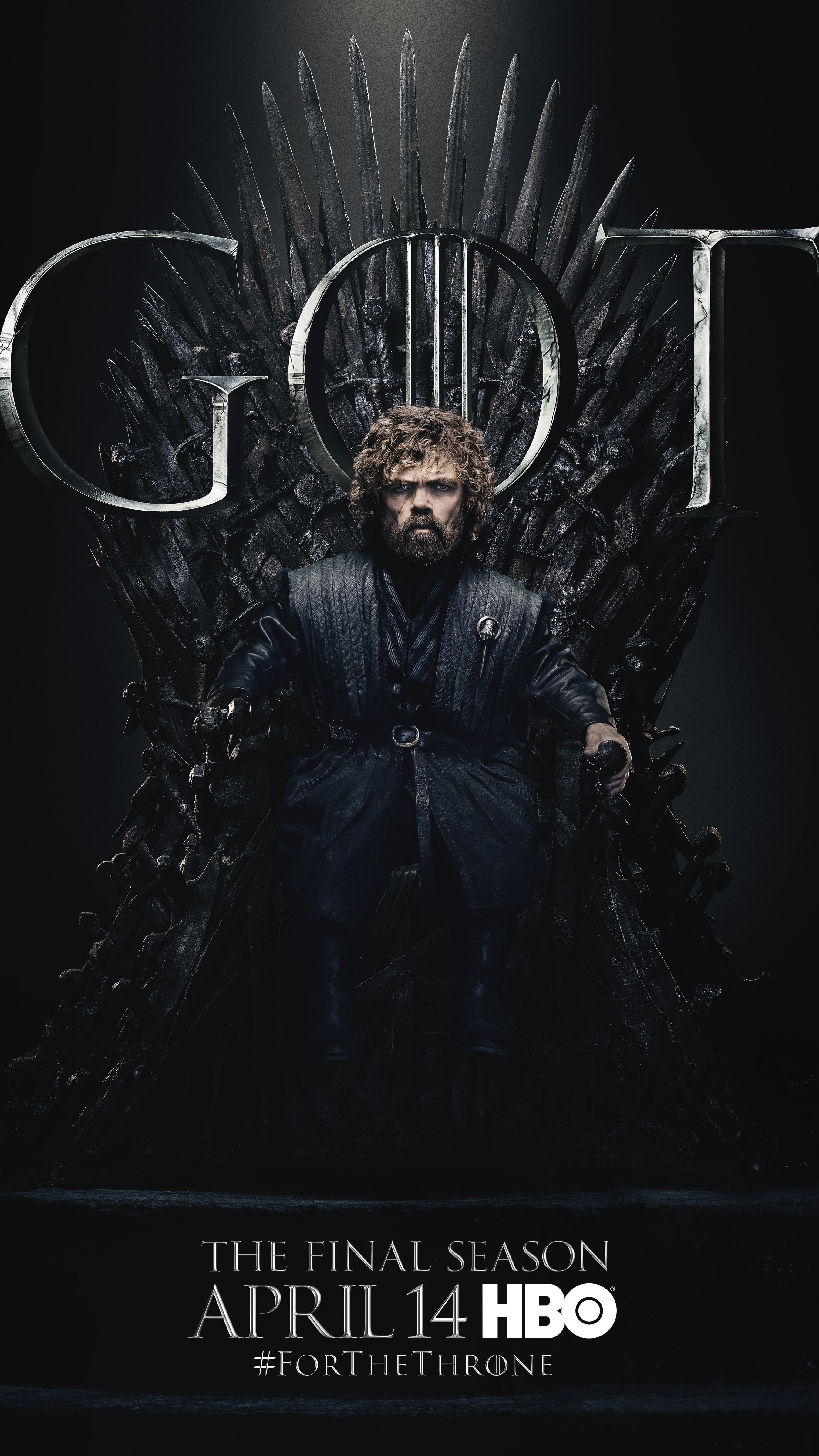 5. Tyrion Lannister GOT Season 8 For The Throne Character Poster-min