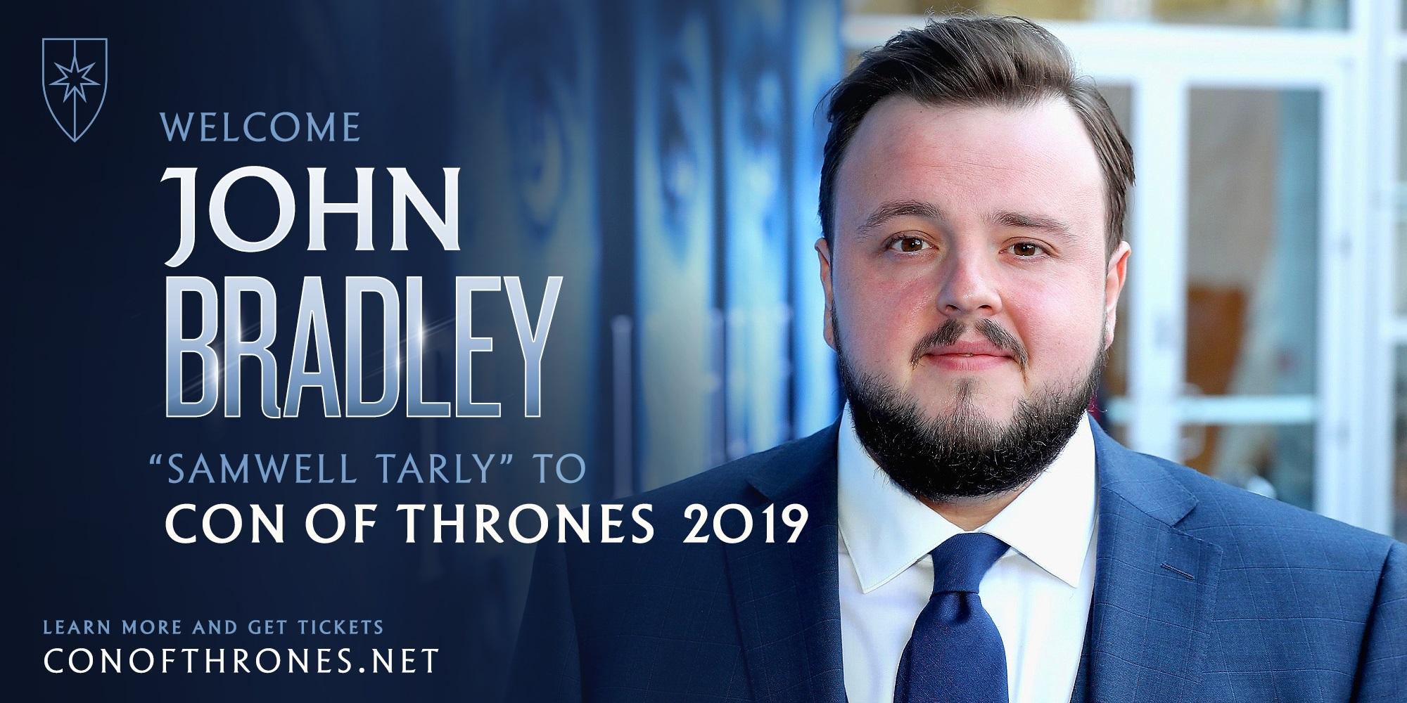 John Bradley Con of Thrones Announcement
