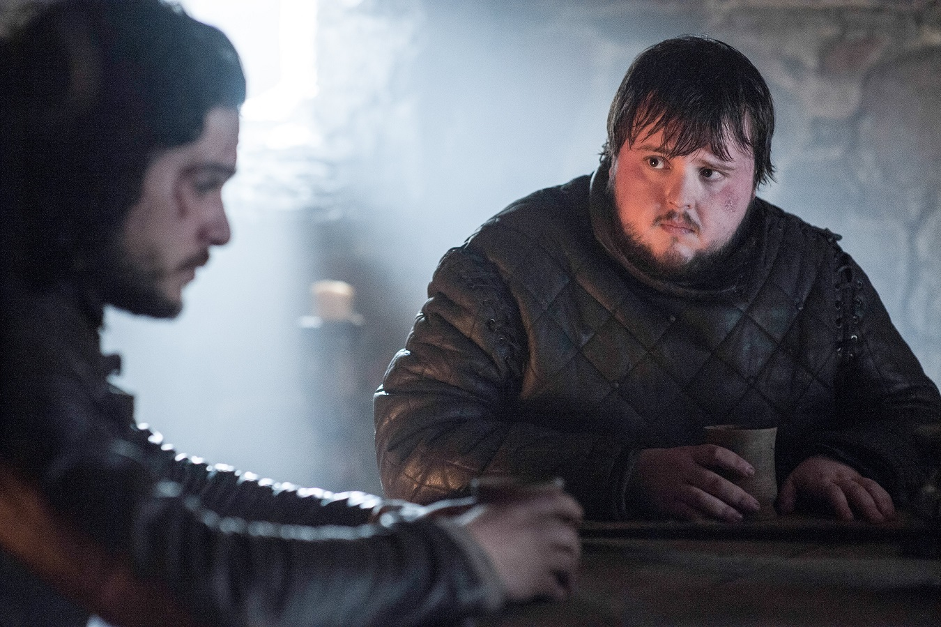 Jon Snow Samwell Tarly season 5