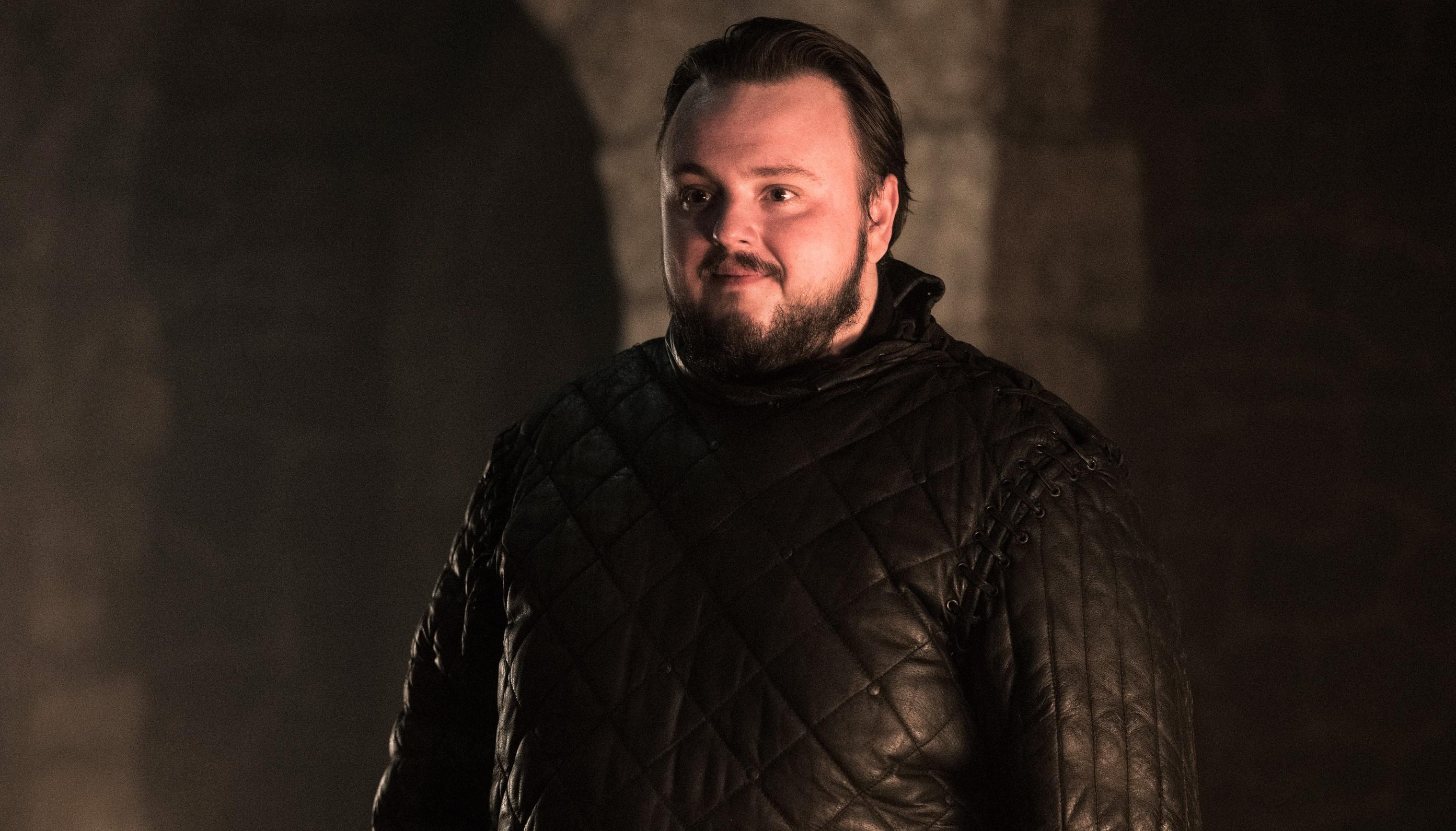 Sam Tarly, Winterfell, Season 8