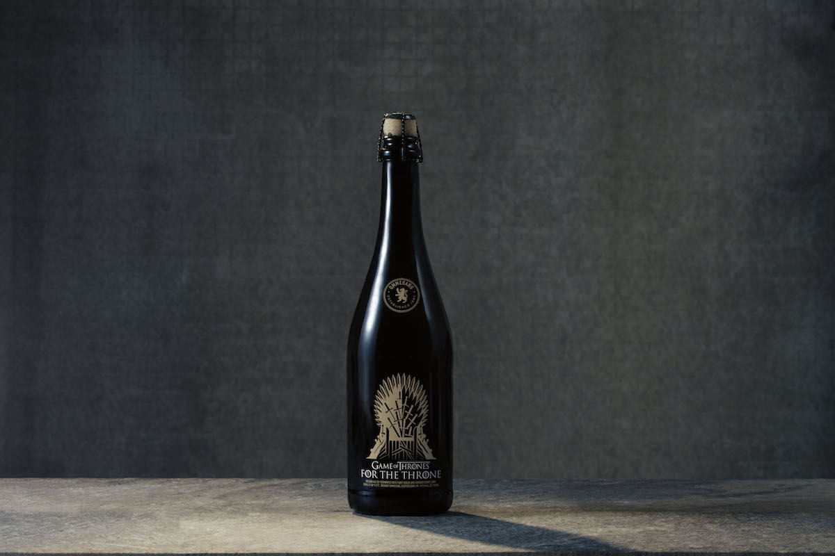 For the Throne - Ommegang beer