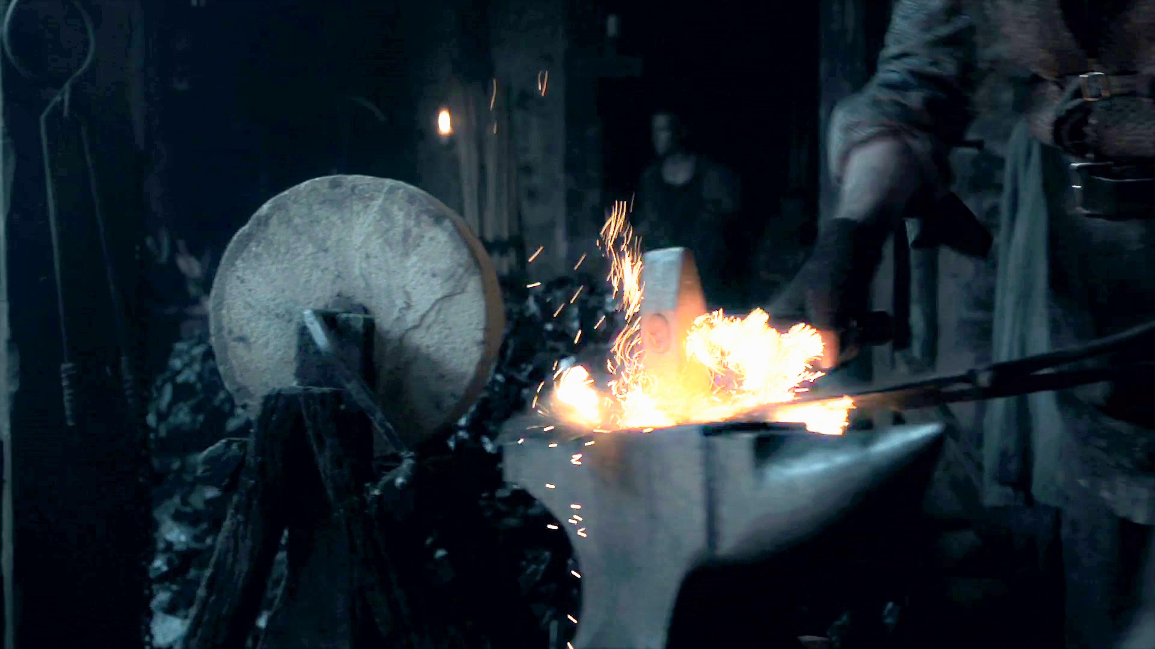 18. Season 8 Trailer Dragonglass Blacksmiths Winterfell