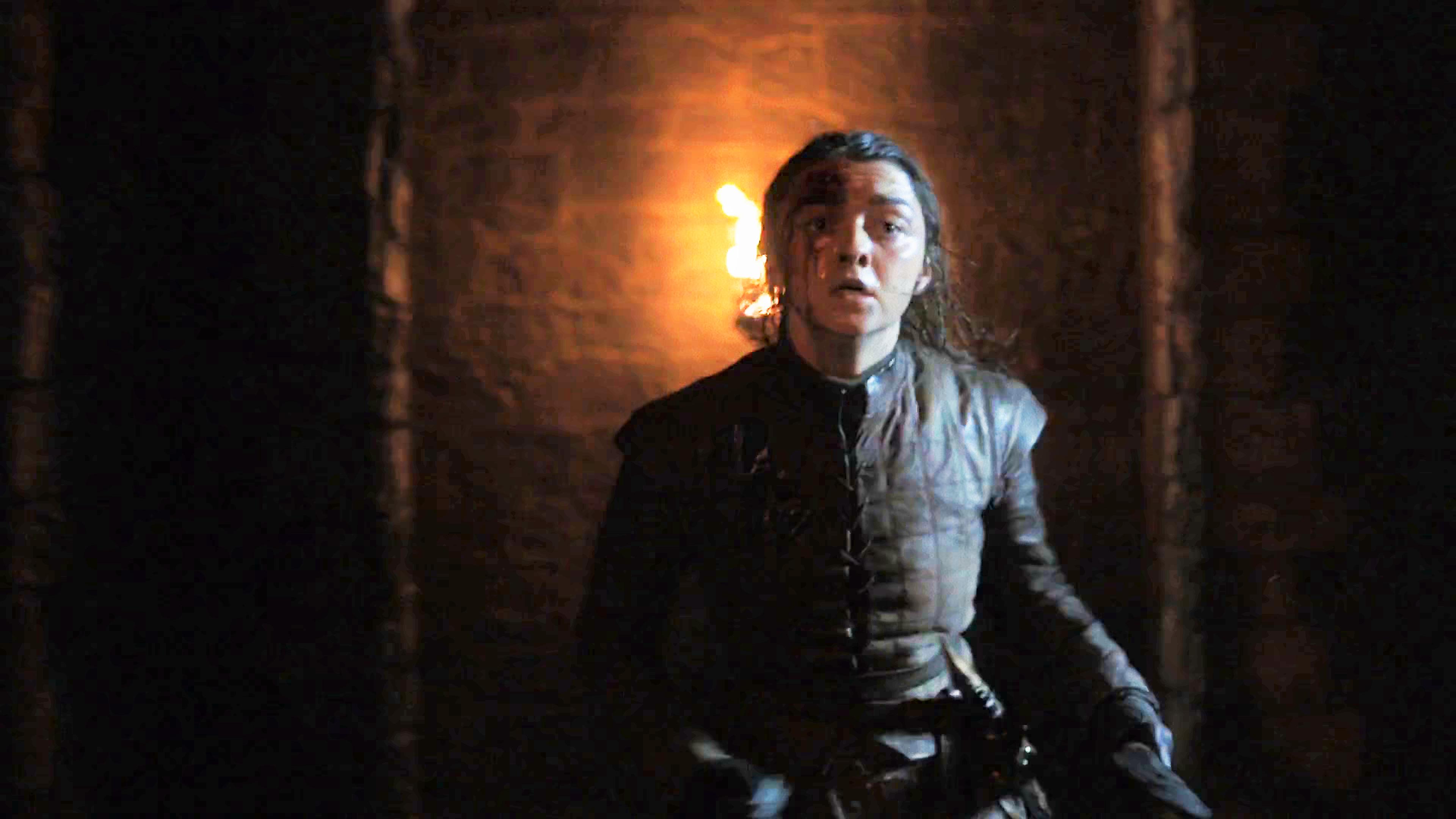 2. Season 8 Trailer Arya Running