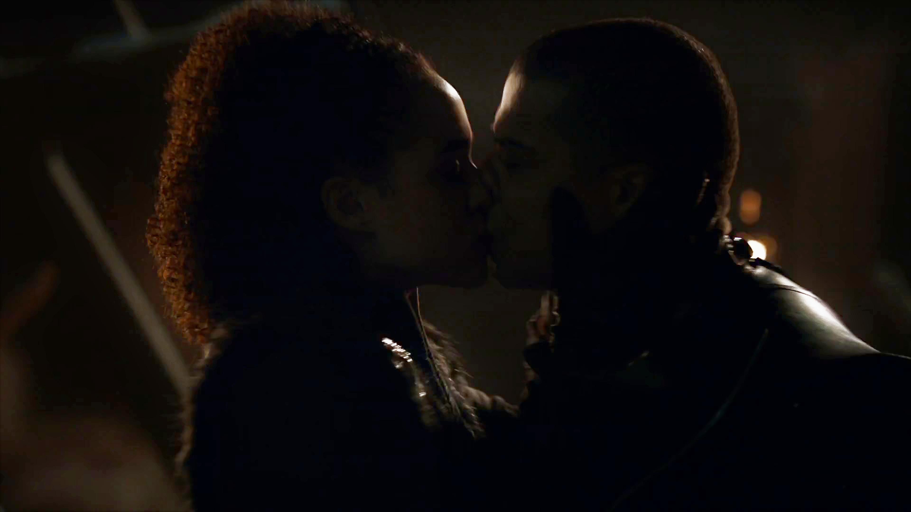 22. Season 8 Trailer Winterfell Battle Missandei Grey Worm Kiss