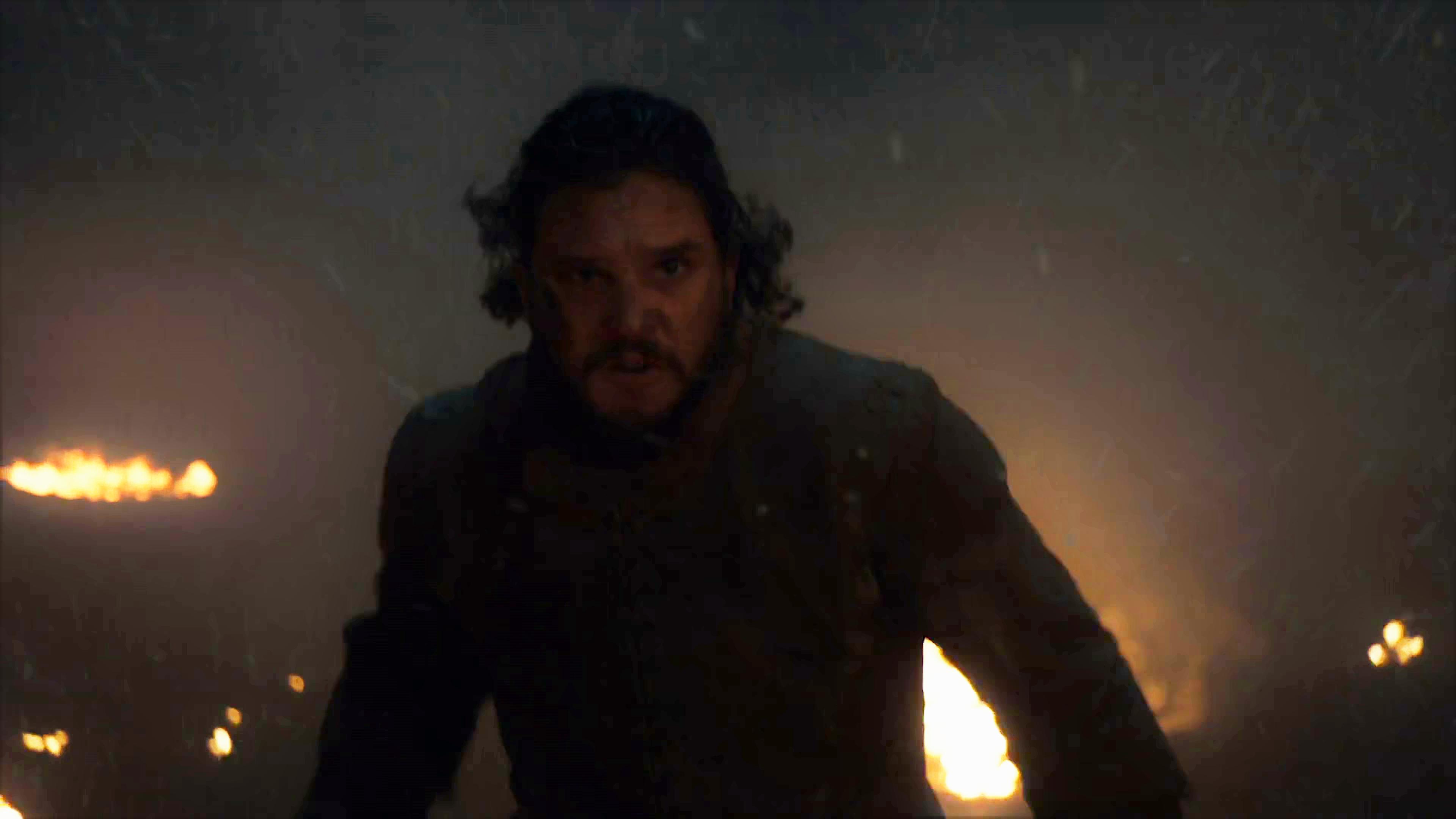 35. Season 8 Trailer Jon Snow Running