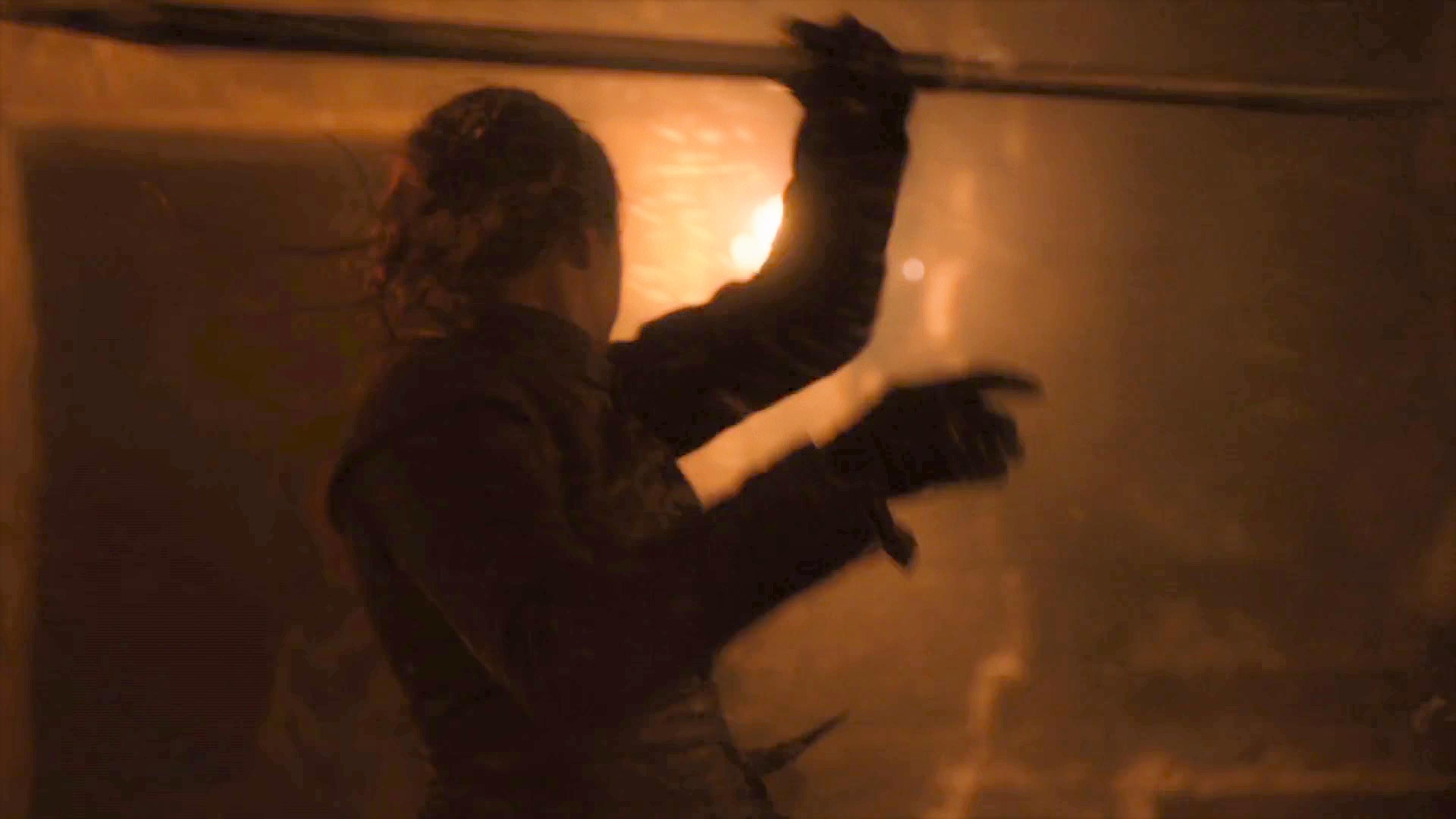 41. Season 8 Trailer Arya Stark Winterfell Battle