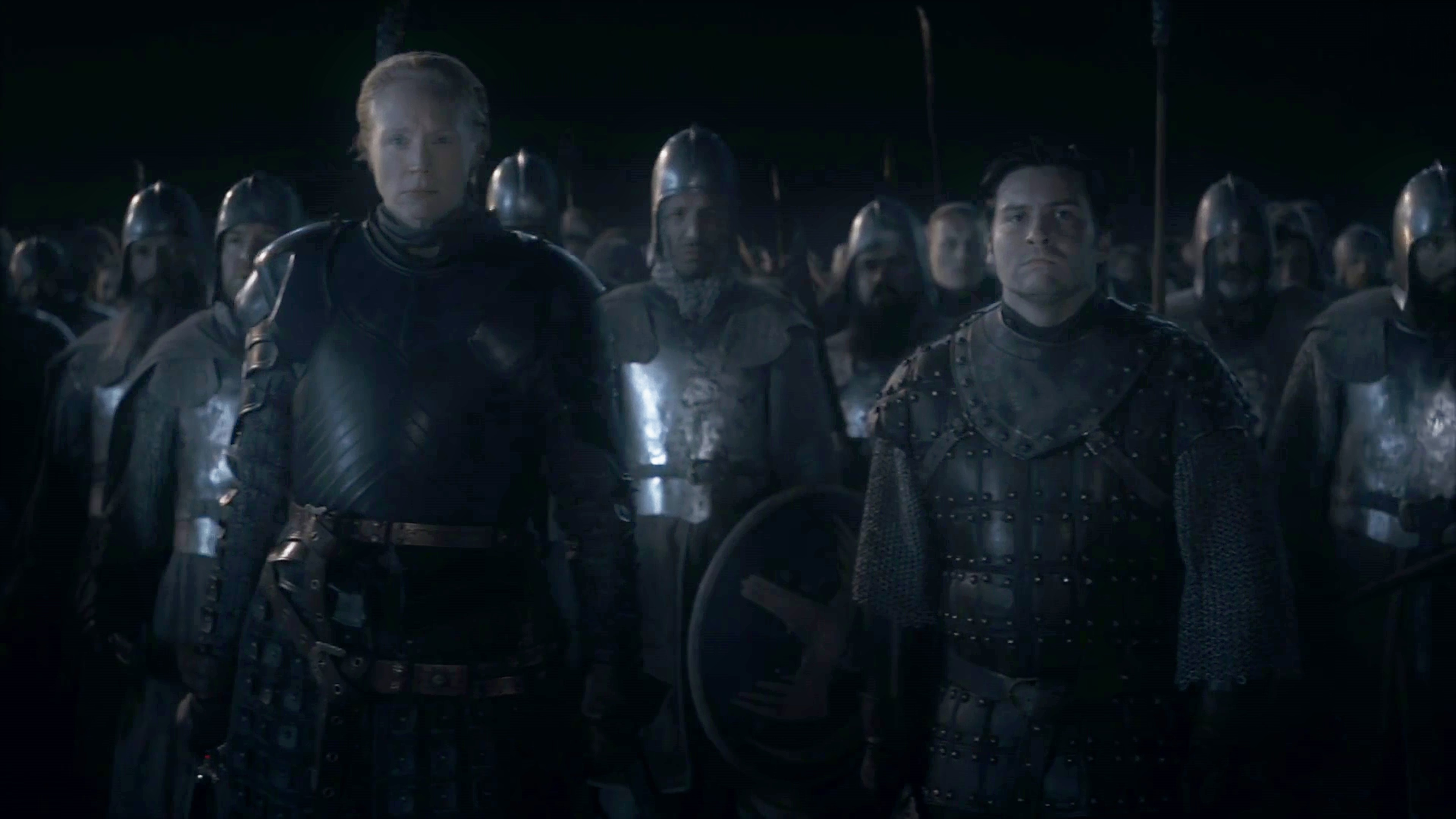 46. Season 8 Trailer Winterfell Battle Brienne of Tarth Podrick Payne Knights Vale