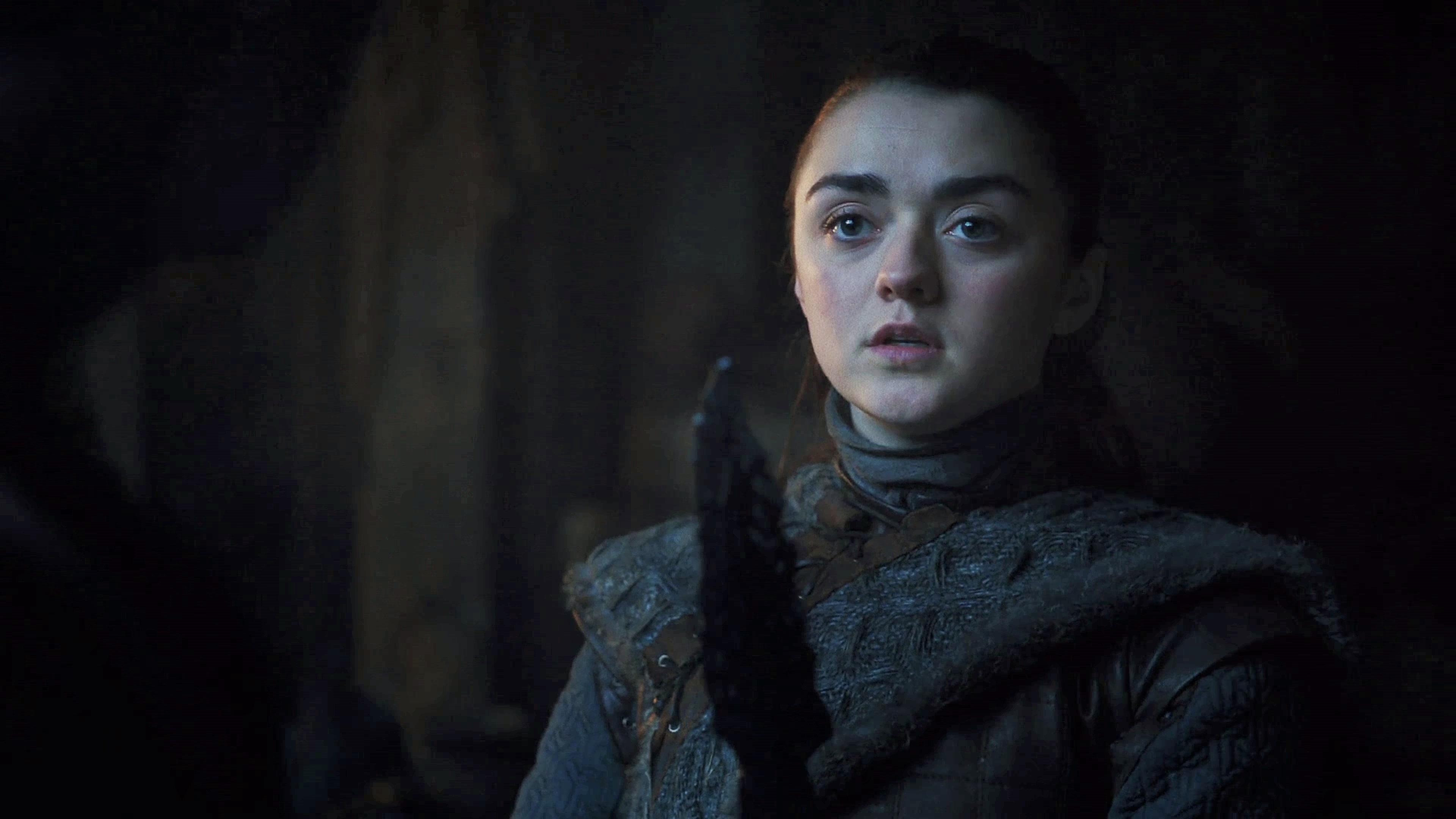 5. Season 8 Trailer Arya Stark Dragonglass Death
