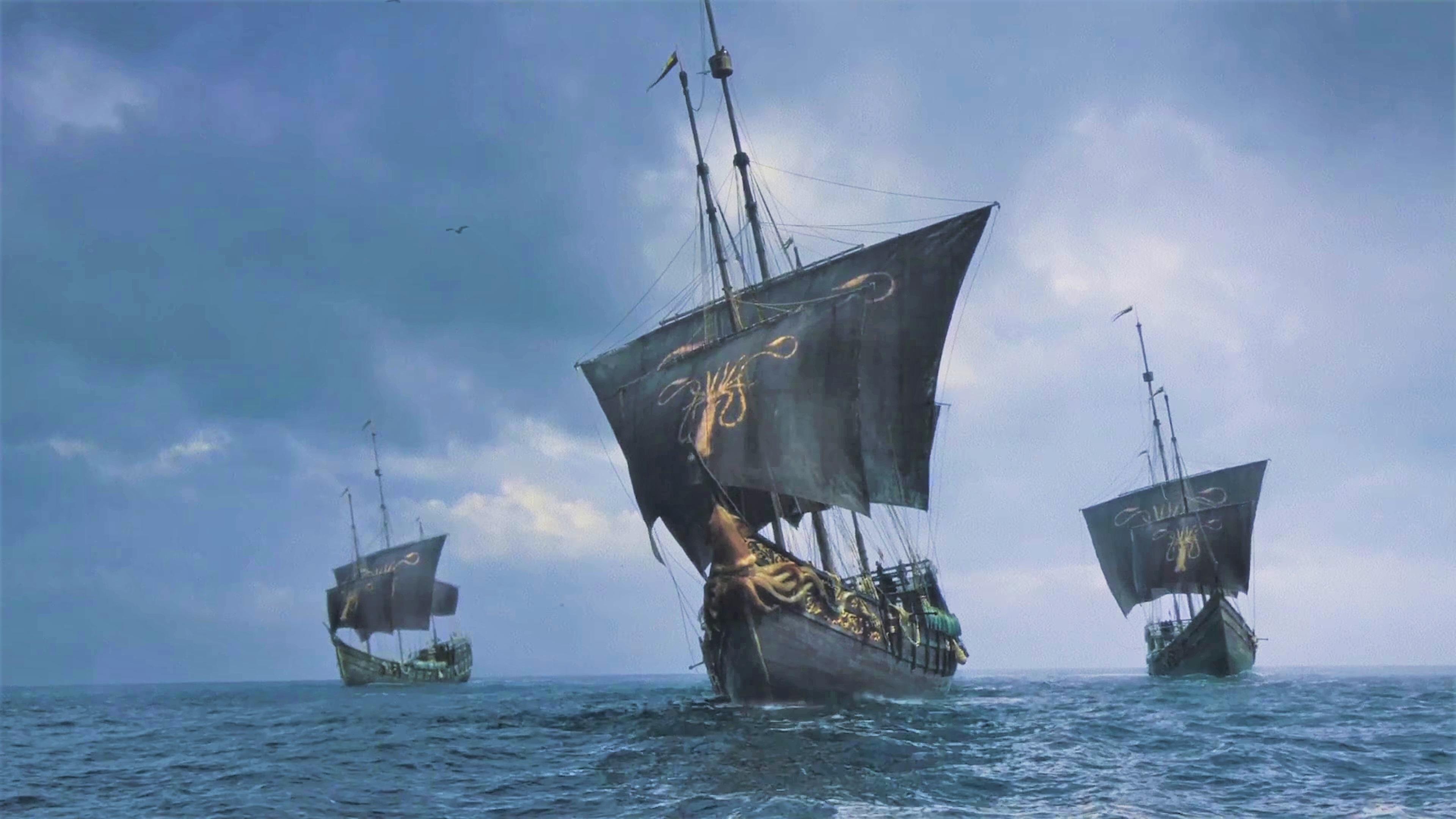 6. Season 8 Trailer Theon Yara Greyjoy Ships