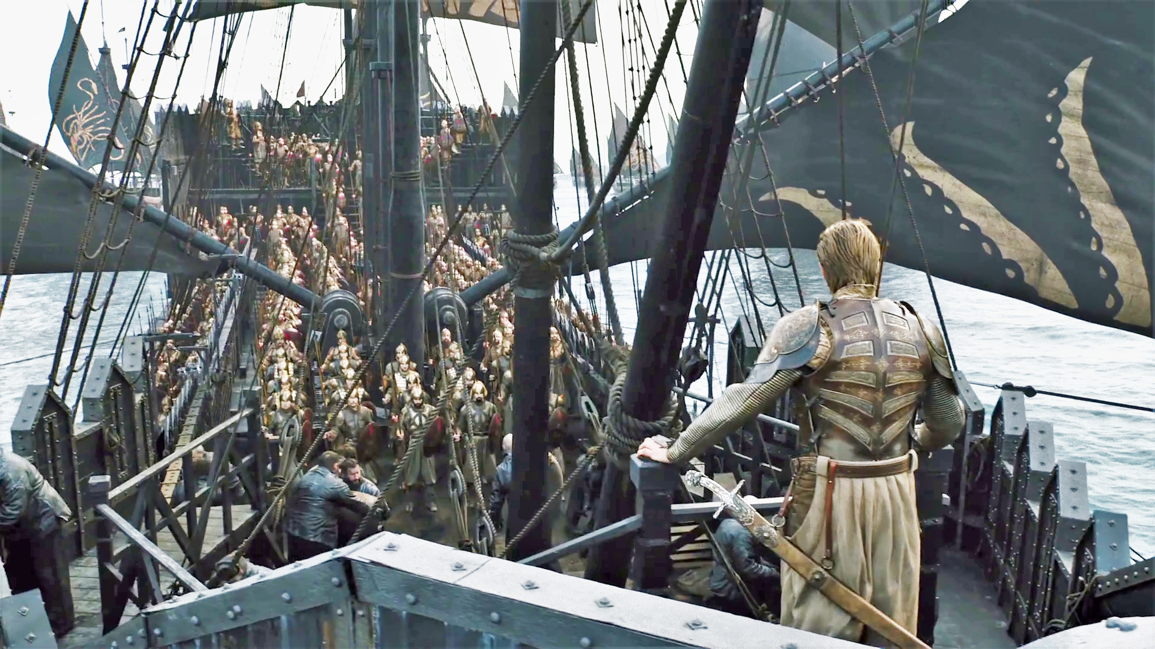 On Euron's Silence, Harry Strickland surveys the Golden Company under his command.
