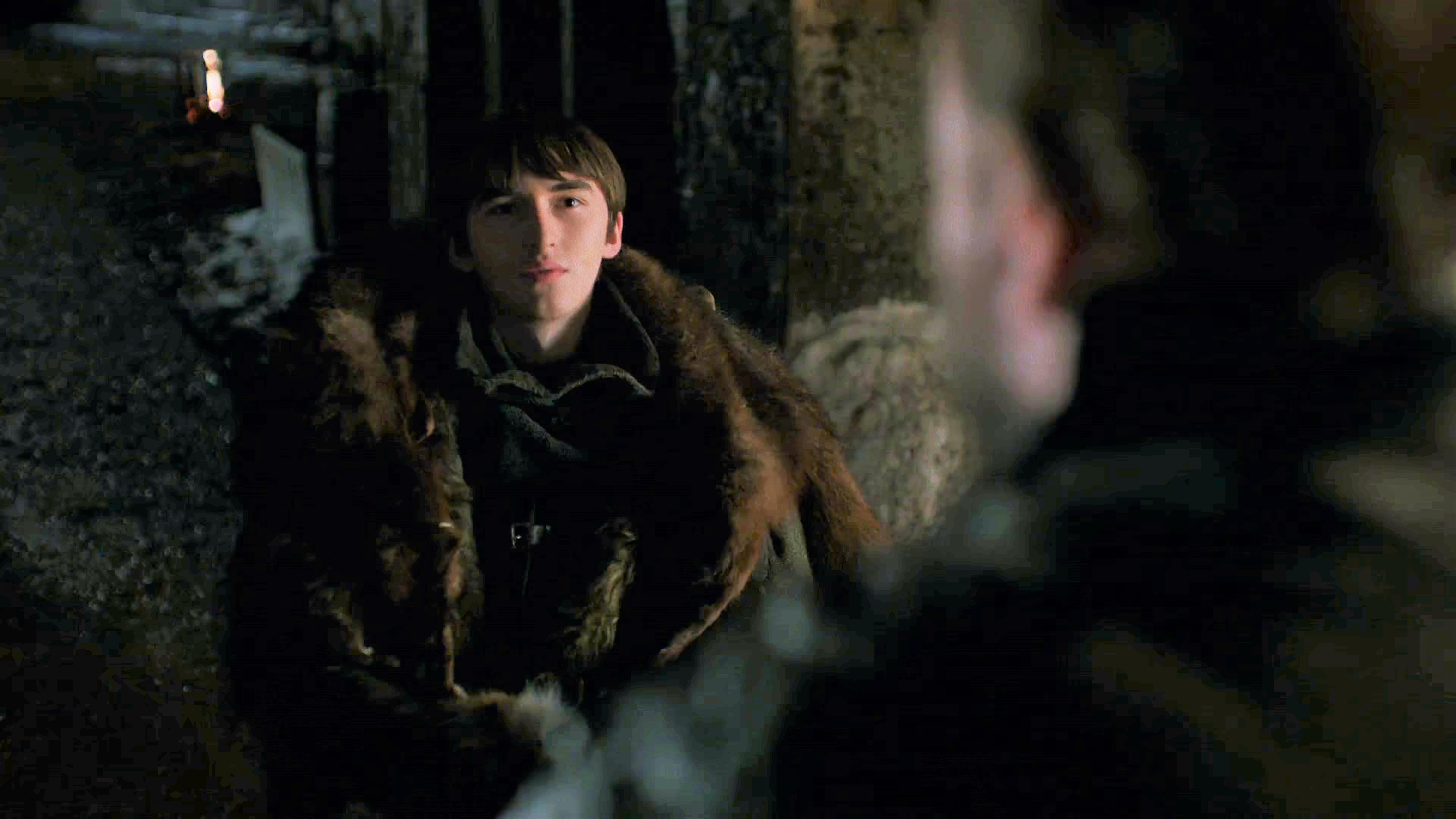 9. Season 8 Trailer Bran Sam Winterfell