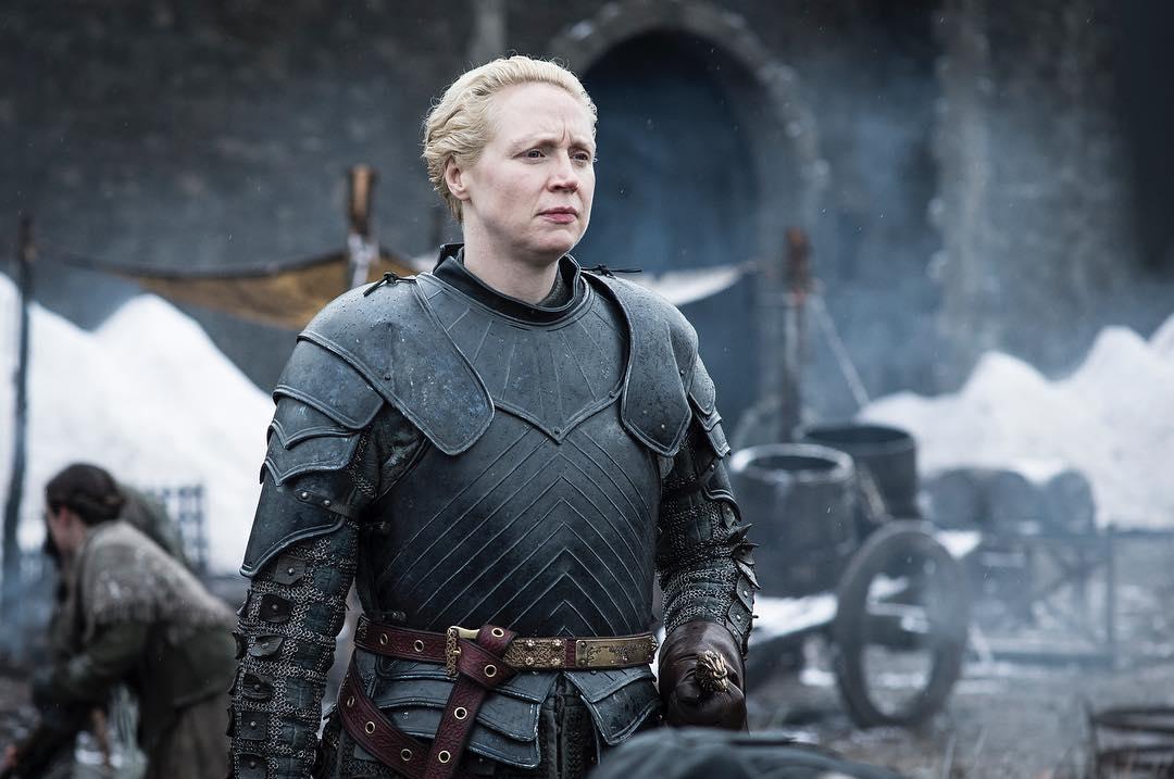 Brienne of Tarth (Gwendoline Christie) in Season 8. Photo: HBO