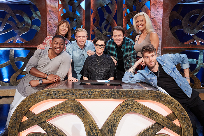 Thronecast: Gameshow of Thrones is a Quiz Show hosted by GoT super fan Sue Perkins. Celebrity fans and Cast members will be battling it out in their Houses to see who knows as much as the three-eyed raven and who's a bit more Jon Snow.