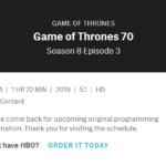 episode 803 running time