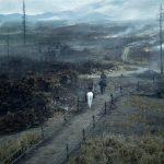 Arya and Sandor ride through the war-torn countryside in Season 4, Episode 1