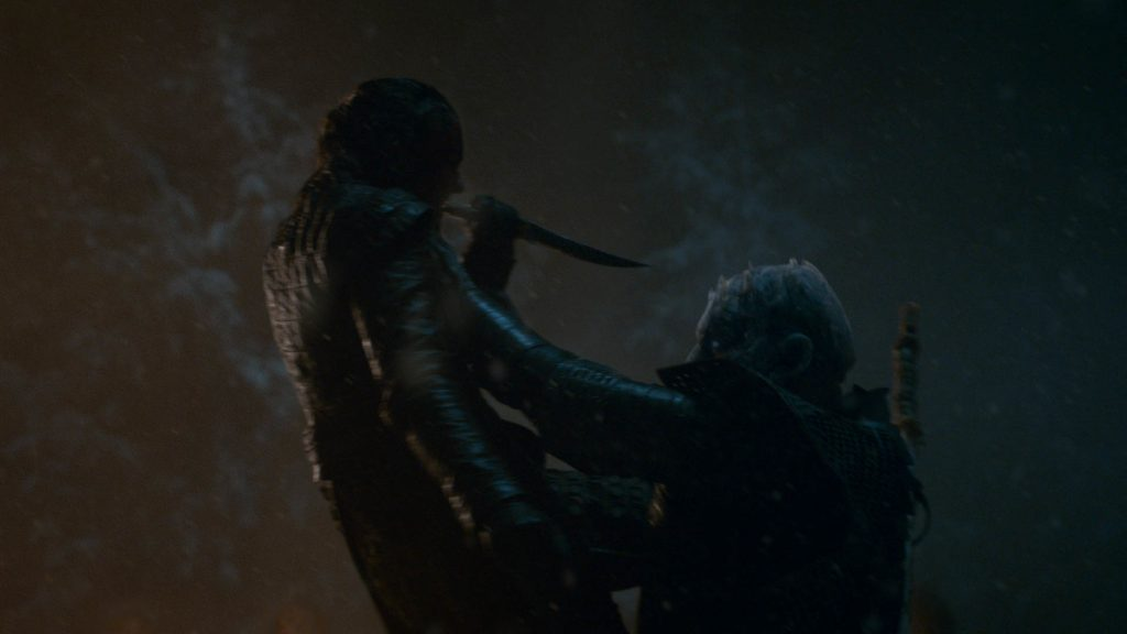 Arya Stark Night King Season 8 803 The Long Night
