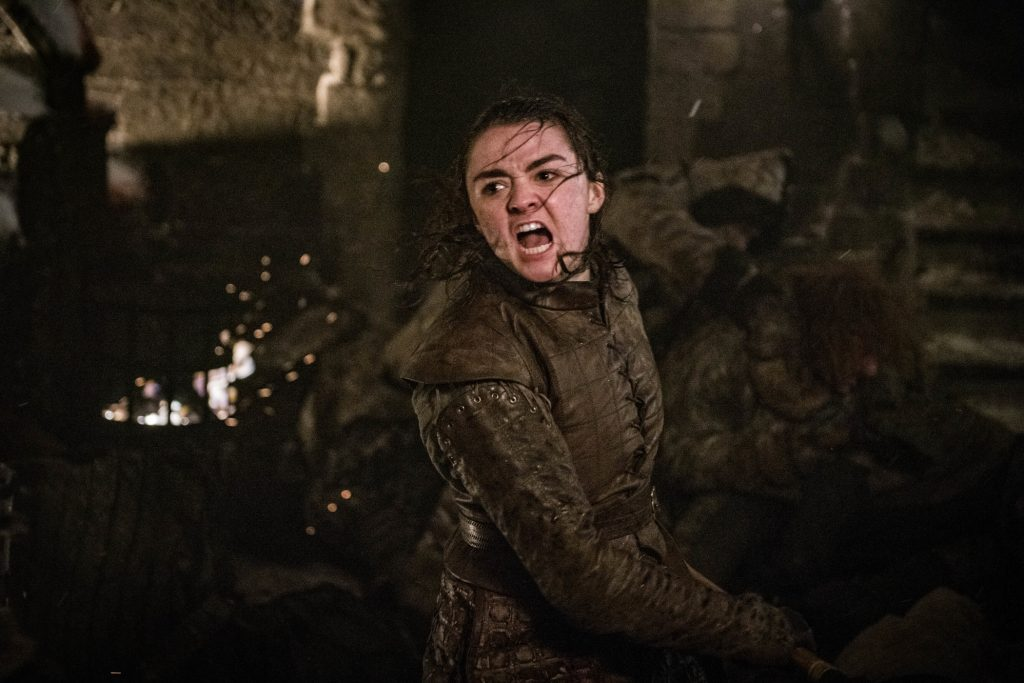 Arya Stark Season 8 803 The Long Night