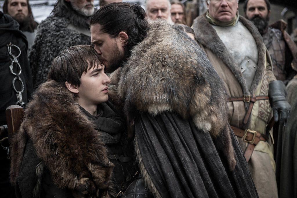 Bran Jon reunion Winterfell