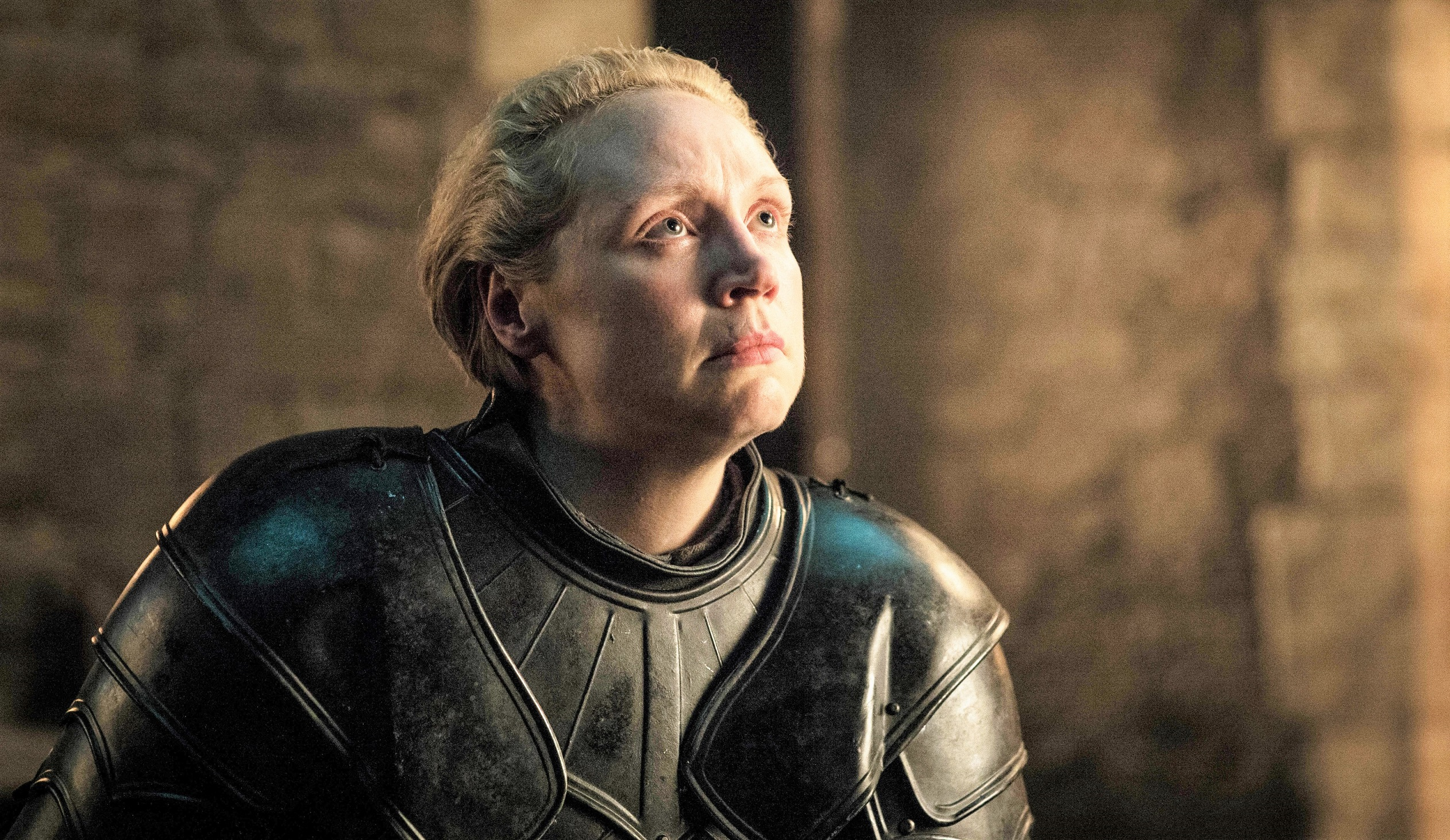 We could gaze at Brienne's expression here forever.