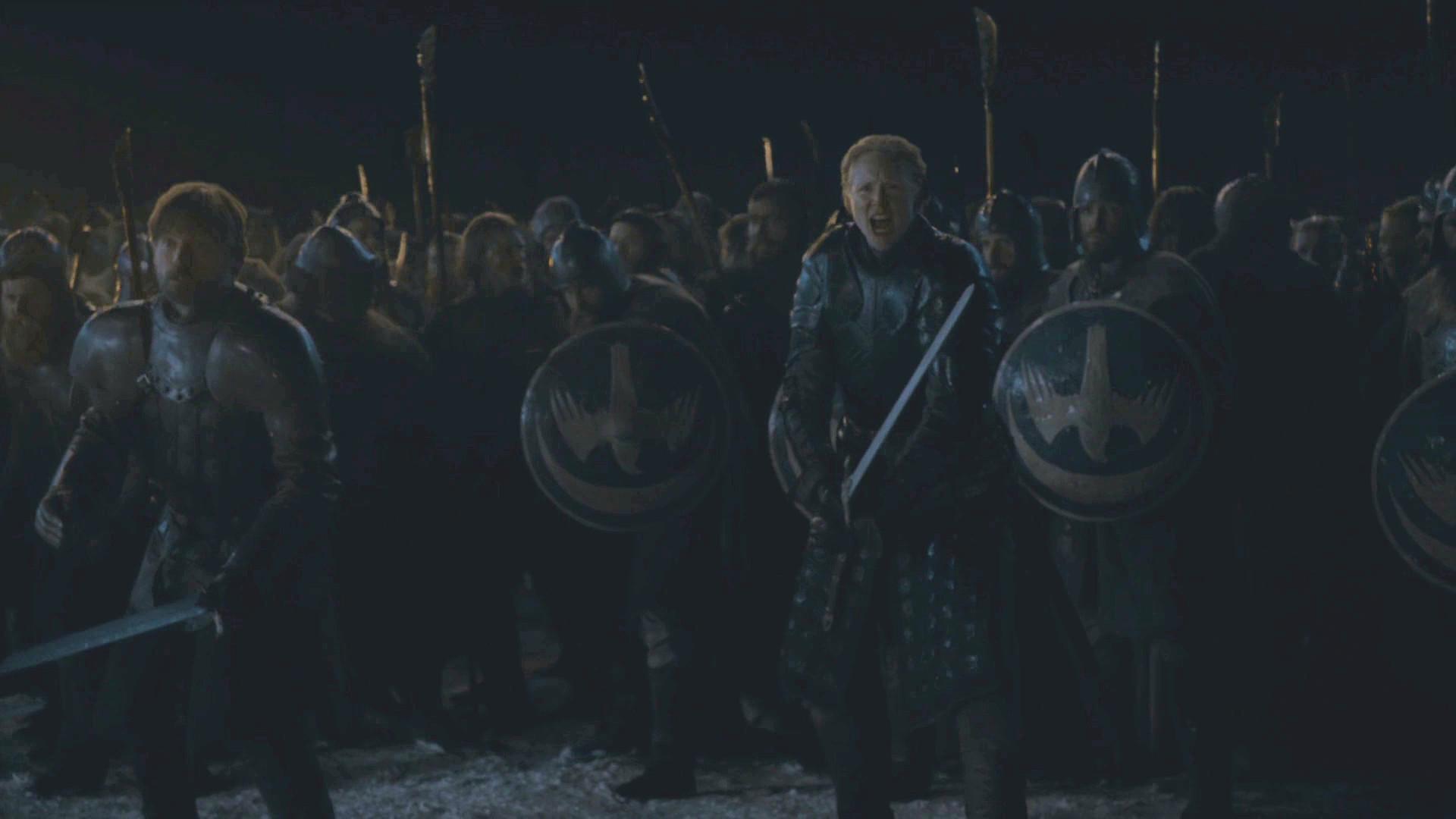 Brienne-of-Tarth-Jaime-Season8 Episode 3