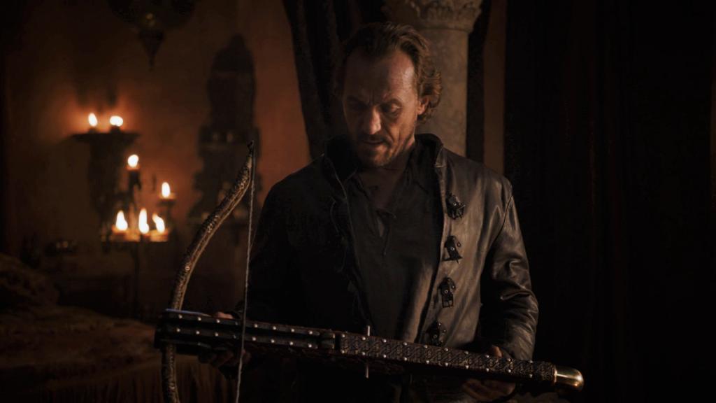 Bronn Crosbow 801 Season 8 Winterfell