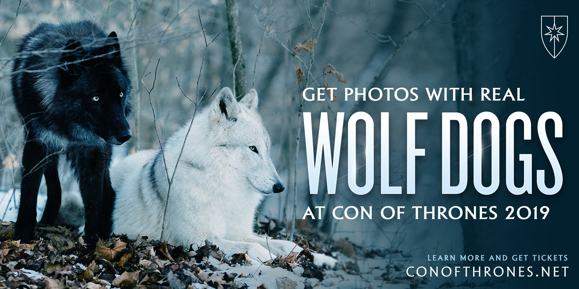 Con of Thrones wolves