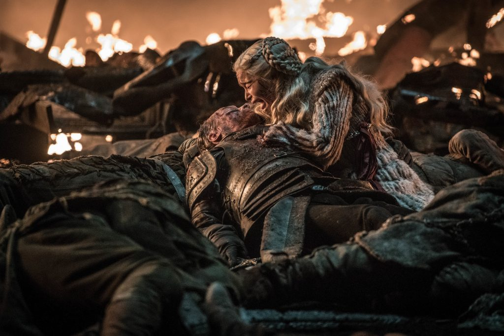 Daenerys Dany Targaryen Jorah Mormont Season 8 803 The Long Night