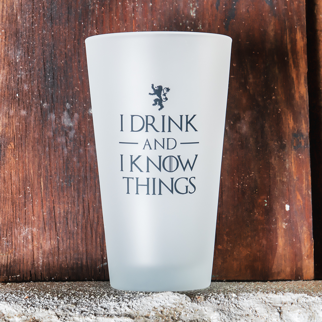 GOT Drinking Glass
