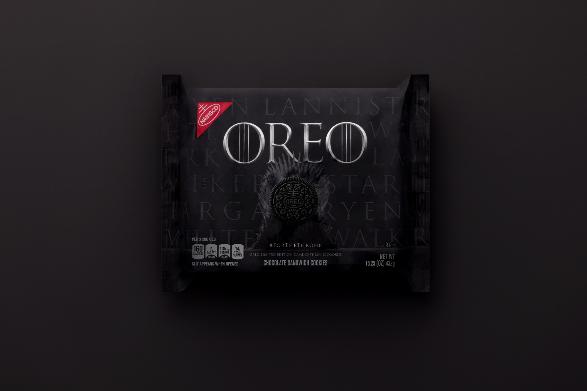 Game of Thrones Oreo 1