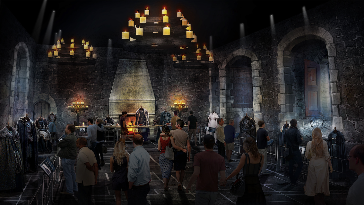 Game of Thrones Studio Tour Mock-up 5