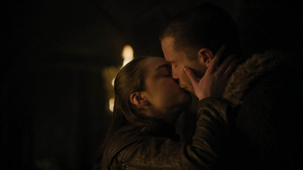 Gendry Arya kiss
