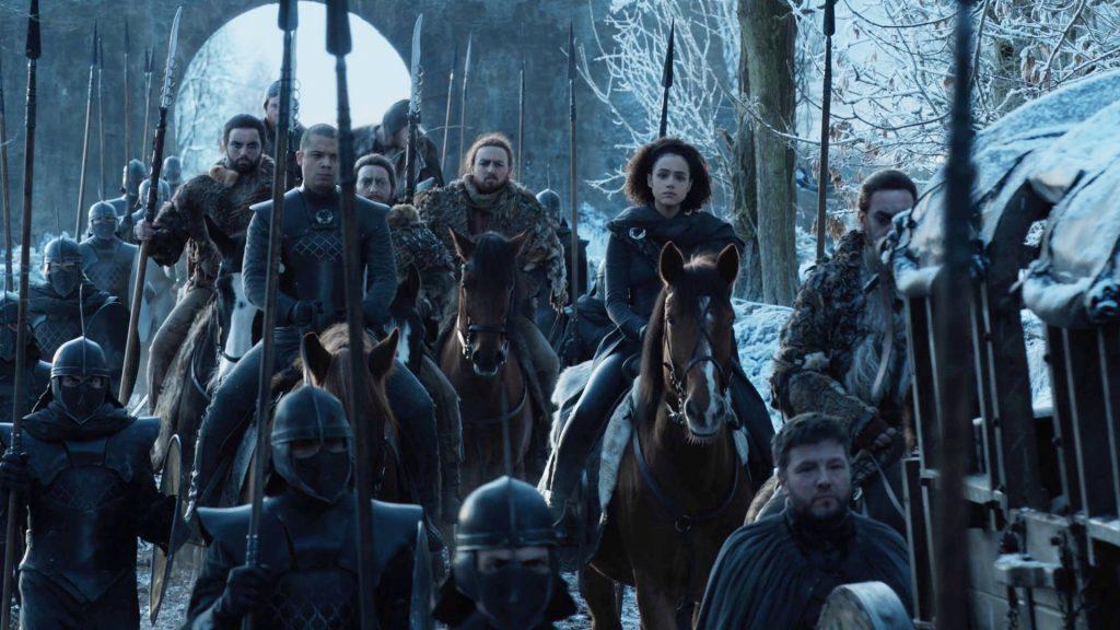 Grey Worm Missandei Unsullied Winterfell 801 Season 8