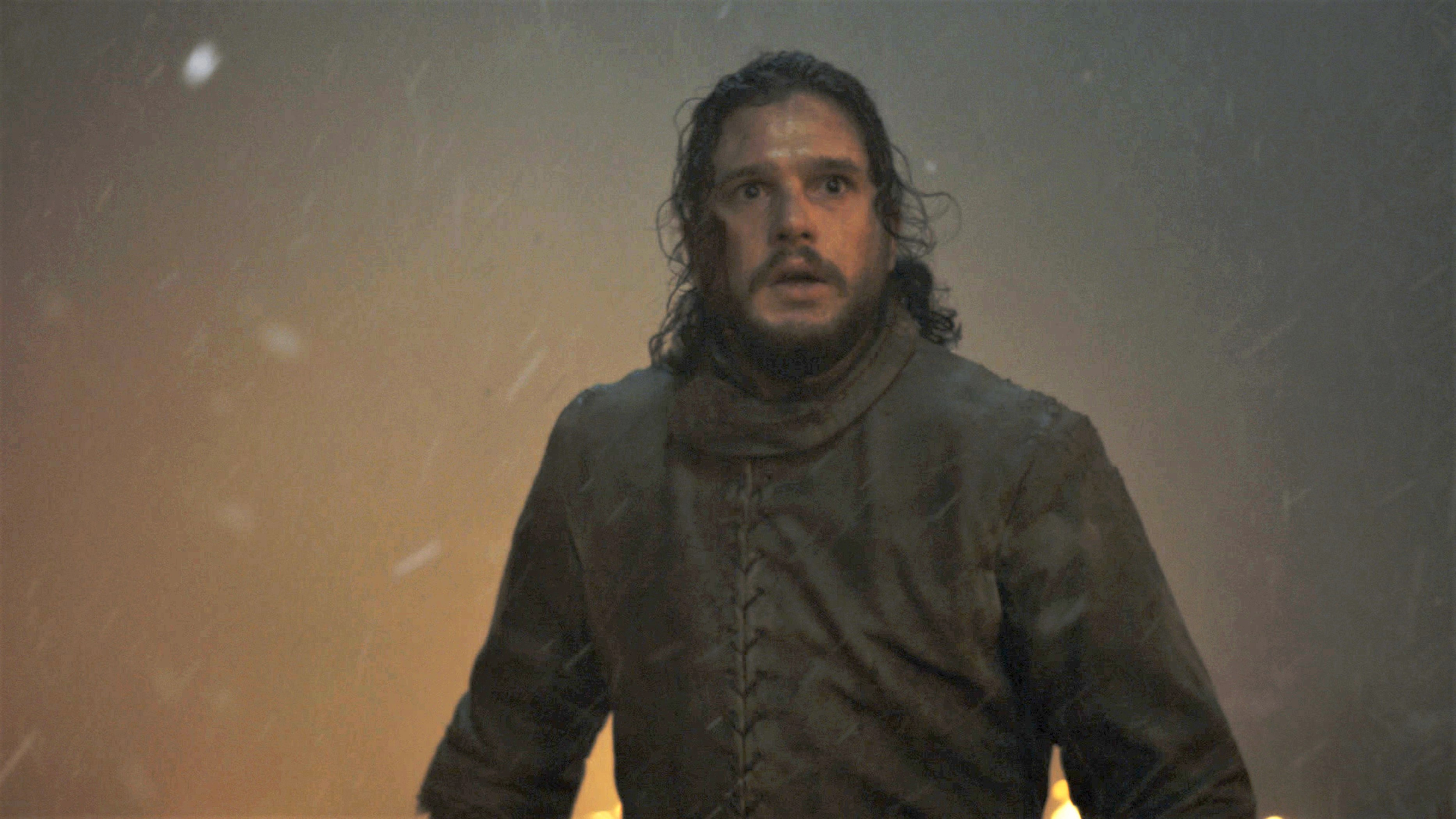 Jon Snow 803 Season 8 Battle of Winterfell Brightened