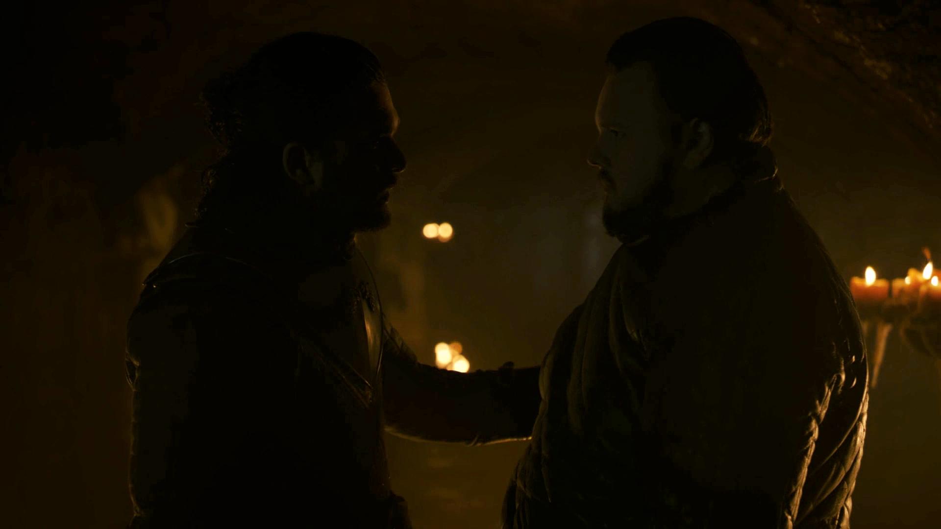 Jon Snow Samwell Tarly Sam Season 8 Crypts 801