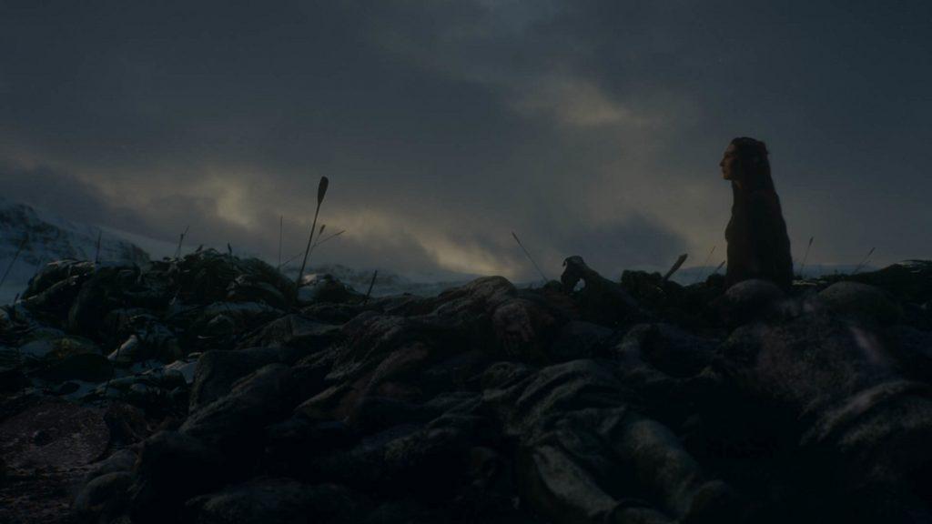 Melisandre death The LOng NIght