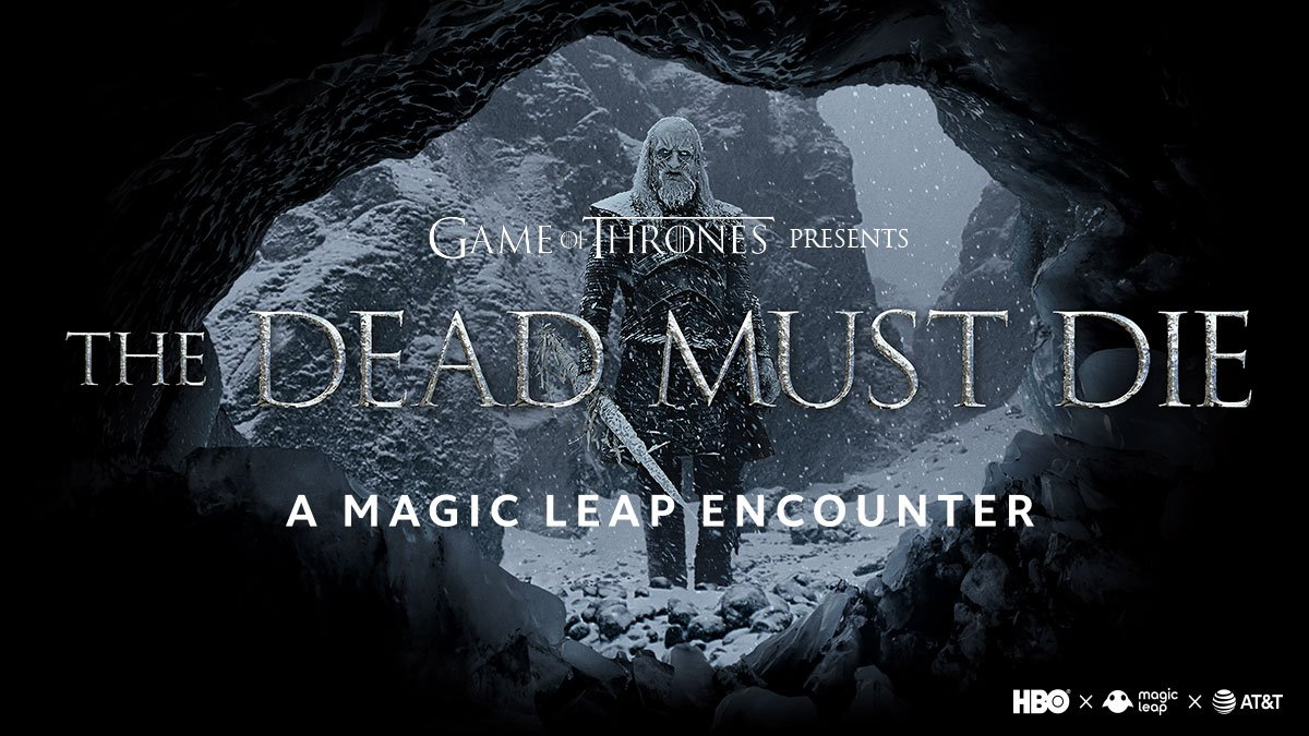 The Dead Must Die augmented reality experience