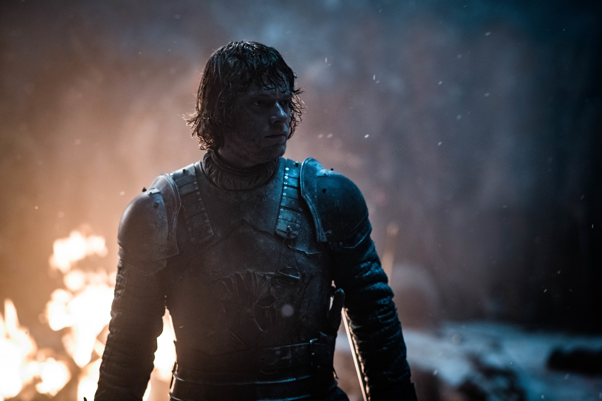 Theon Greyjoy Season 8 803 The Long Night