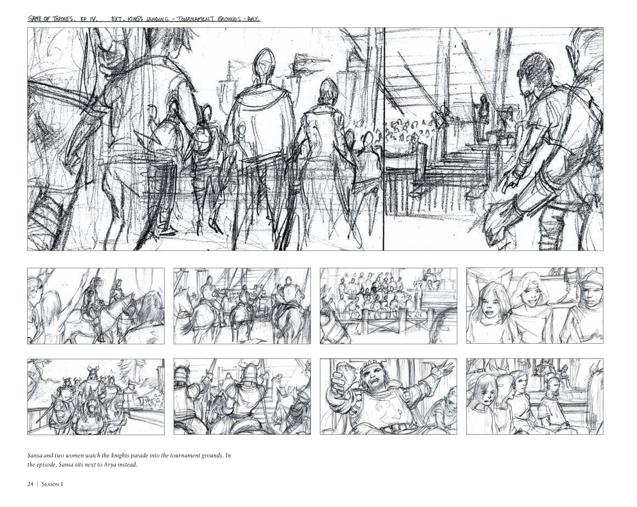 WoTC Exclusive_ Game of Thrones_ The Storyboards panel 1